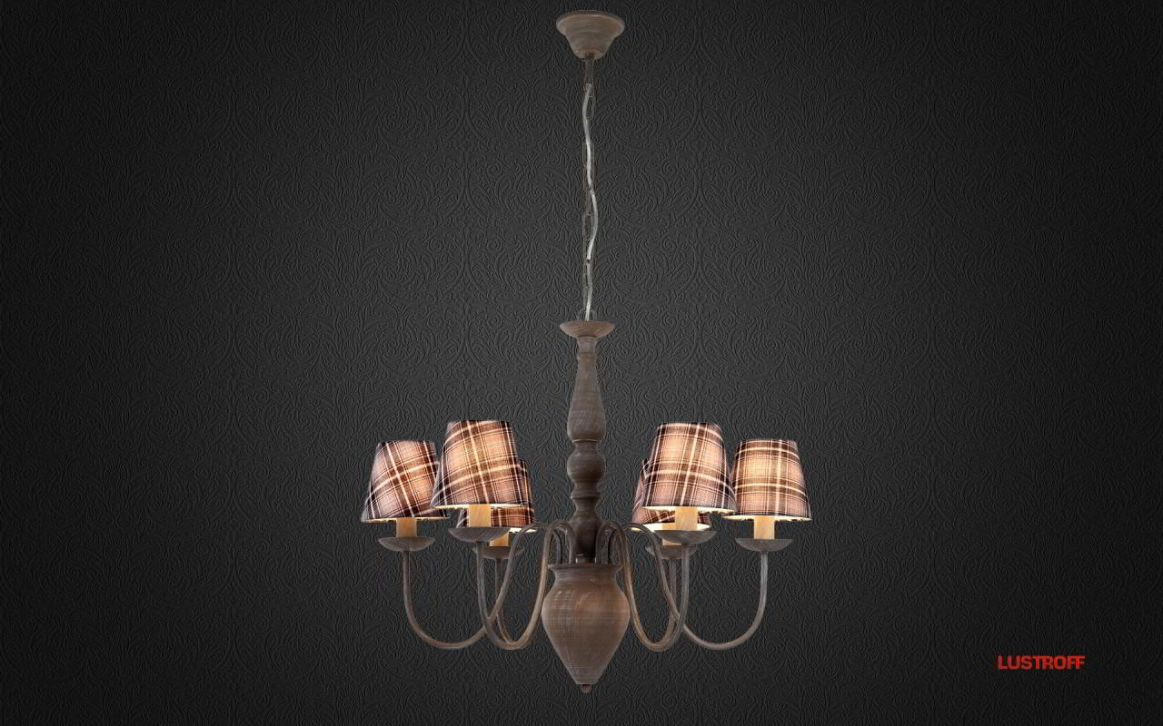 Люстра Arte Lamp Scotch A3090LM-6GY
