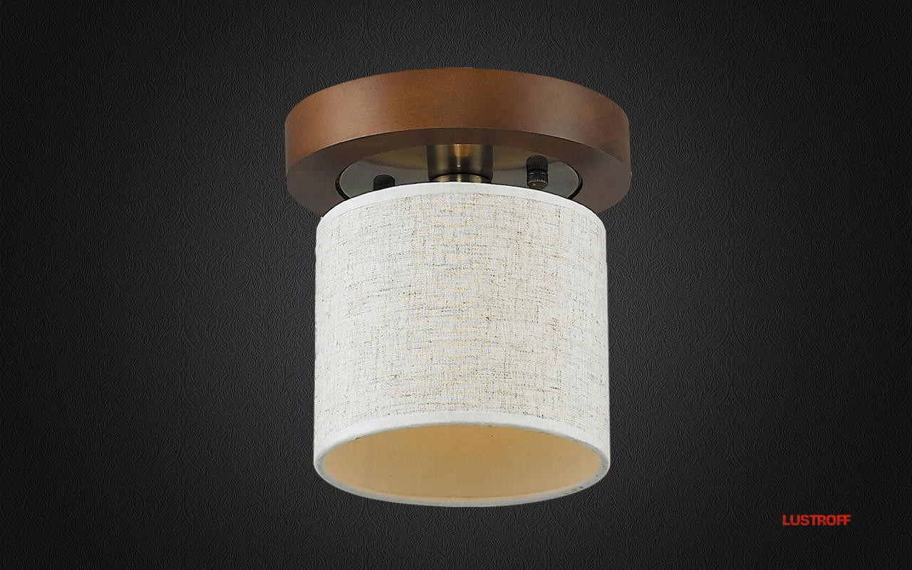 INL-3094C-01 Antique Brass & Walnut
