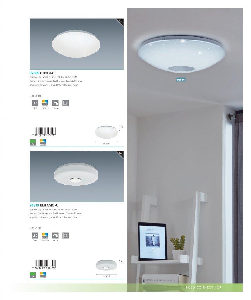 настенно потолочный Led светильник Eglo 32589 Giron C купить