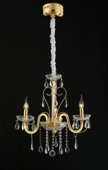 Люстра WUNDERLICHT CLASSICAL STYLE K5136-45GD