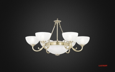 Люстра Arte Lamp Windsor White A3777LM-6-2AB