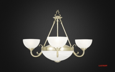 Люстра Arte Lamp Windsor White A3777LM-3-2AB