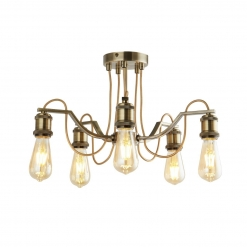 Люстра Arte Lamp Inedito A2985PL-5AB