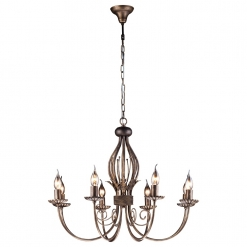 Люстра Arte Lamp Dolce A3057LM-8BR