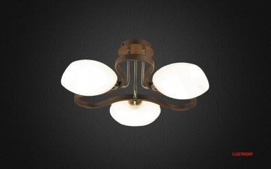 INL-9210C-03 Antique Brass&Walnut