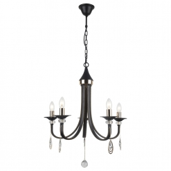 Люстра Arte Lamp Dallas A8540LM-5BK