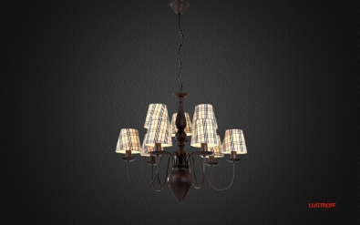 Люстра Arte Lamp Scotch A3090LM-6-3CK
