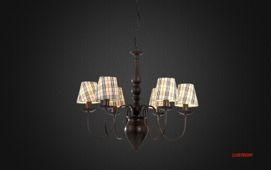 Люстра Arte Lamp Scotch A3090LM-6CK