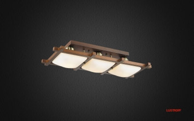 INL-3092C-03 Antique Brass & Walnut