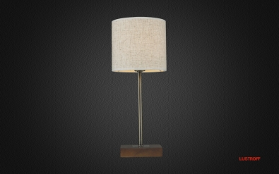 INL-3094T-01 Antique Brass & Walnut