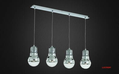 Подвес Ideal Lux LUCE SB4 CROMO